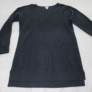 Halogen Cashmere Blend Grey Sweater